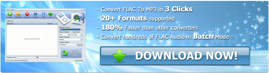 FLAC To MP3 Converter Download